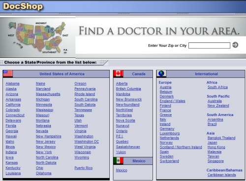 DocShop.com circa 2004