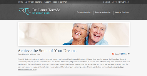 Website of Dr. Laura Torrado