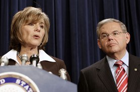 Senators Barbara Boxer and Robert Menendez