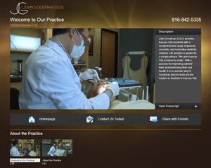 Kansas City Dentist Launches Video Website
