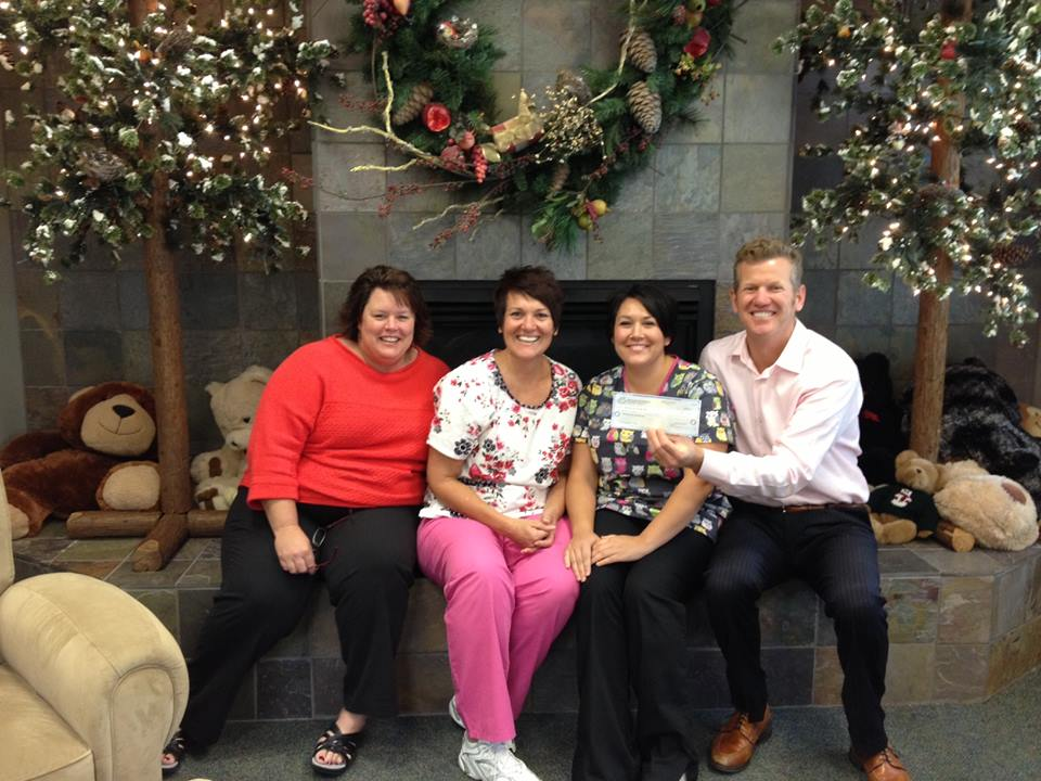 smiles for life and christmas box house charity campaign