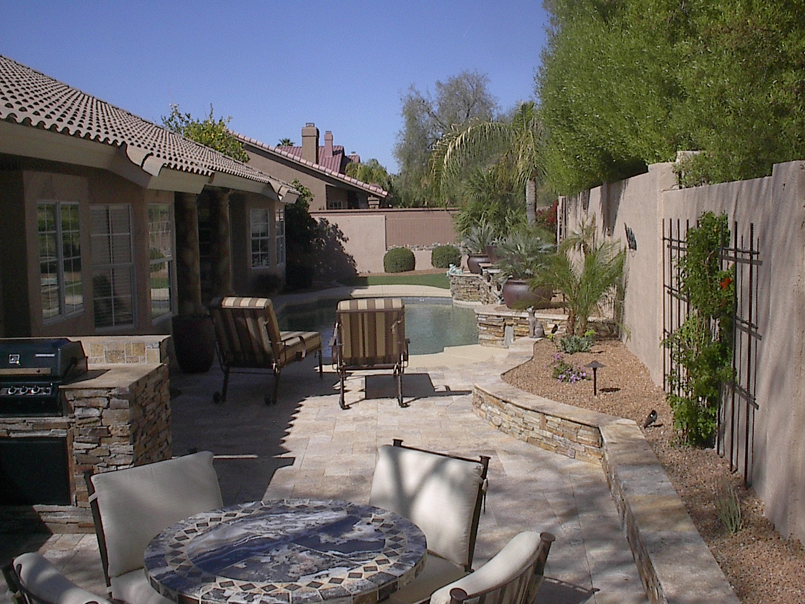 phoenix anthem az patio designs hardscaping