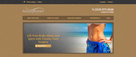 Advanced Bariatric Center Website