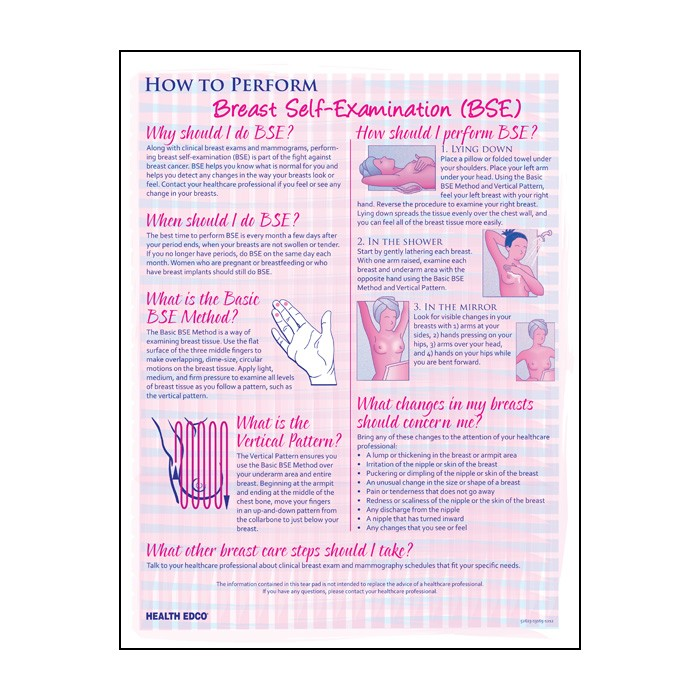 breast exam Advancing breast exam standards and practices the mammacare method® is the standard for performing and teaching clinical and personal breast examination.