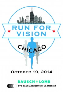 Run for Vision Chicago Logo