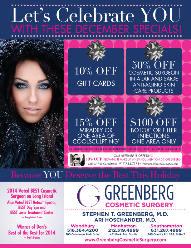 Holiday Specials Give The Gift Of Beauty