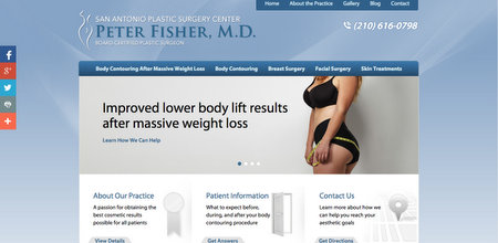 Dr. Peter Fisher's New Website