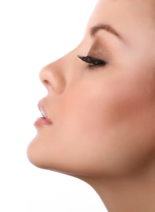 Chin augmentation without chin implant with Juvederm