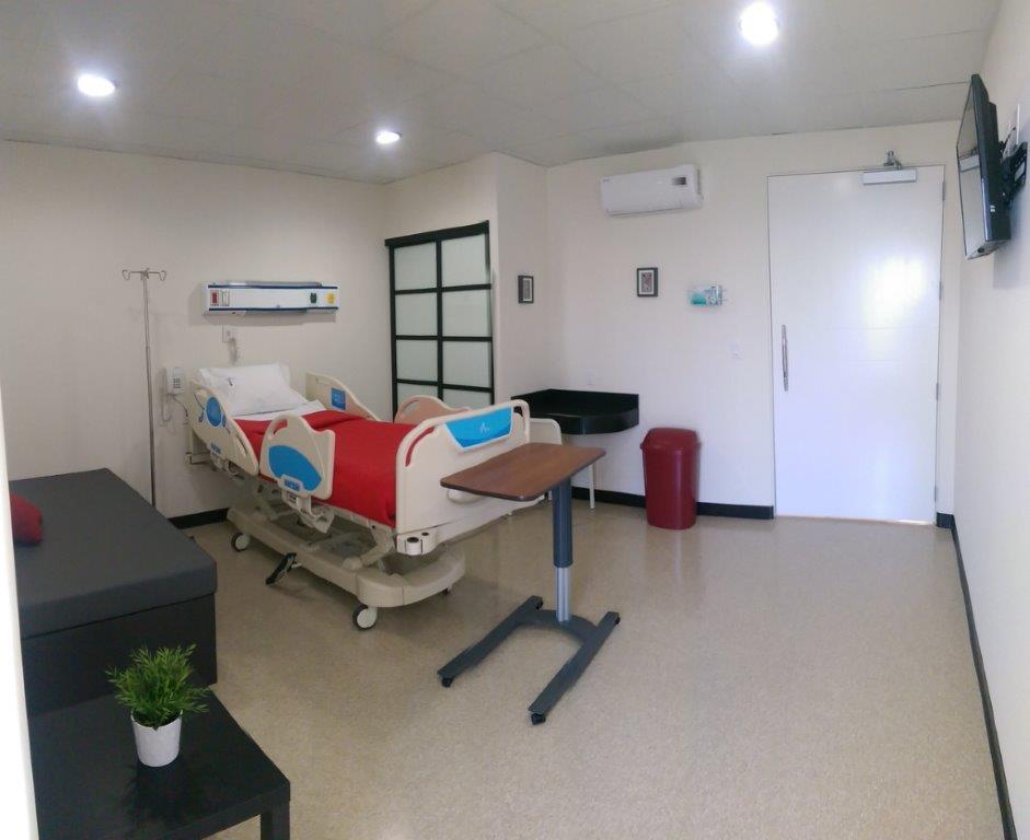 Private Hospital Room - Tijuana Bariatric Center