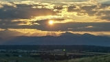 Denver Sunset - July 2013