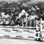 My passion for horses and equestrian sports. A picture from my days at the National Defense Academy.
