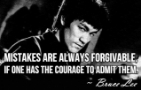 Mistakes & Courage