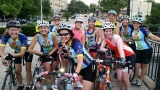 Hot summer group ride with the women's cycling group ~ Bella Donnas!