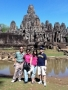 Ancient ruins and temples in Siem Reap, Cambodia