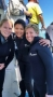 Pre-shark diving inGansbaai, on the Western Cape of South Africa with people I met on the trip