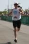 Running at my first triathlon at Pleasant Prairie, WI