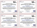 IIoT Training Certificates