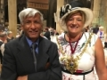 With Lord Mayor Denise Fox of Sheffield, UK at the Centennial of the Society of Glass Technology, September 4-8, 2016.