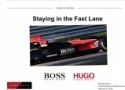Hugo Boss Strategic Marketing Plan