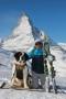 Skiing in Zermat