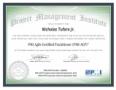 PMI-ACP Agile Practitioner