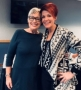 My long-time friend, Angi Baumeister,owner of A Head of the Times Salon/Spa, at my Des Moines seminar.