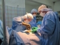 Performing surgery in Guatemala