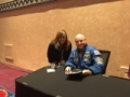 Meeting astronaut Scott Kelly at a conference