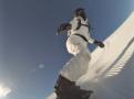 Snowboarding in Tahoe