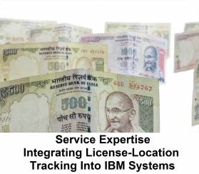 Service Expertise - Integrating License-Location Tracking Into IBM Systems