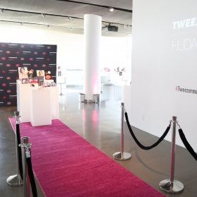 Tweezerman | Huda Influencer Event