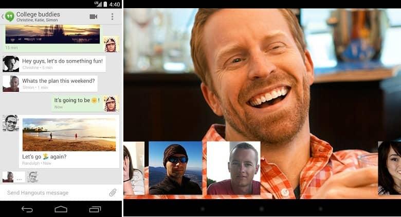 Hangouts - Guía de Instalación para Android