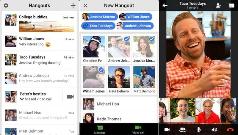 Hangouts - Guía de Instalación para iOS