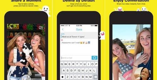 Snapchat agrega stickers a sus fotos, según la ubicación cada usuario
