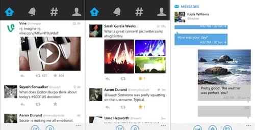 Twitter mejora sus características para compartir fotos en Windows Phone