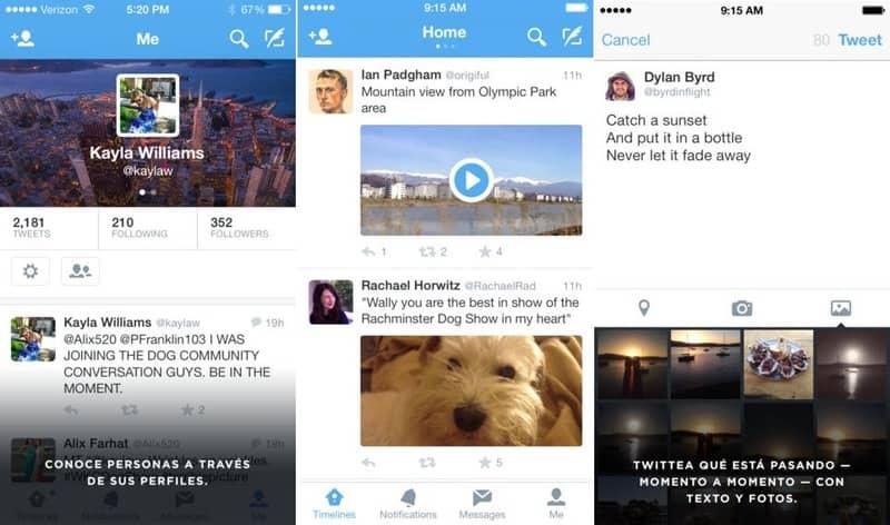 Twitter - Guía de Instalación para iOS
