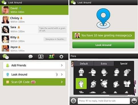 WeChat - Guía de Instalación para BlakBerry