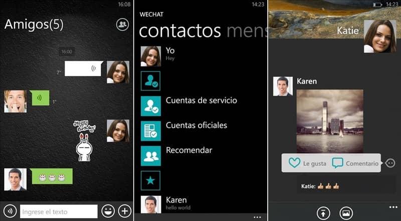 WeChat - Guía de Instalación para Windows Phone