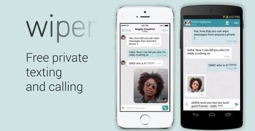 Wiper Messenger, el servicio de mensajería que no deja rastros