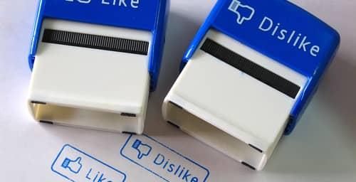 """Te contamos de que se trata el botón """"No me gusta"""" de Facebook"""
