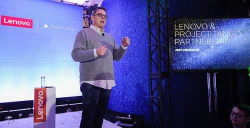 Lenovo y Google se unen por la realidad aumentada