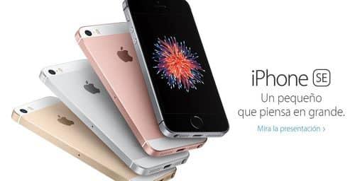 Apple presentó el iPhone SE de 4 pulgadas