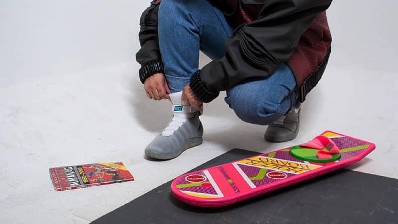 Las Nike de Marty McFly en tus pies