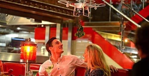 Dron Café: El primer bar atendido por drones