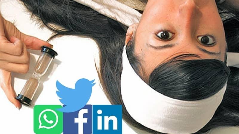 El tiempo que se llevan las redes sociales