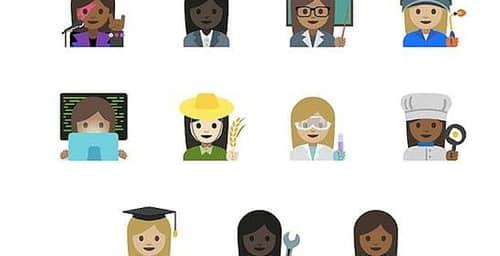 Nuevos emojis en apoyo a la igualdad de género