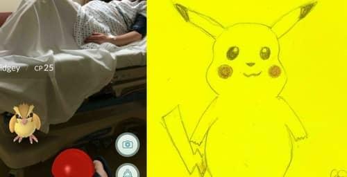¿Pokemon Go en una sala de pre-parto?