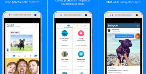 Facebook Messenger se actualiza para permitir mensajes de videos