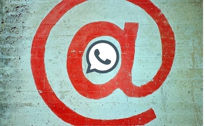 Aprende a arrobar a otro usuario en whatsapp