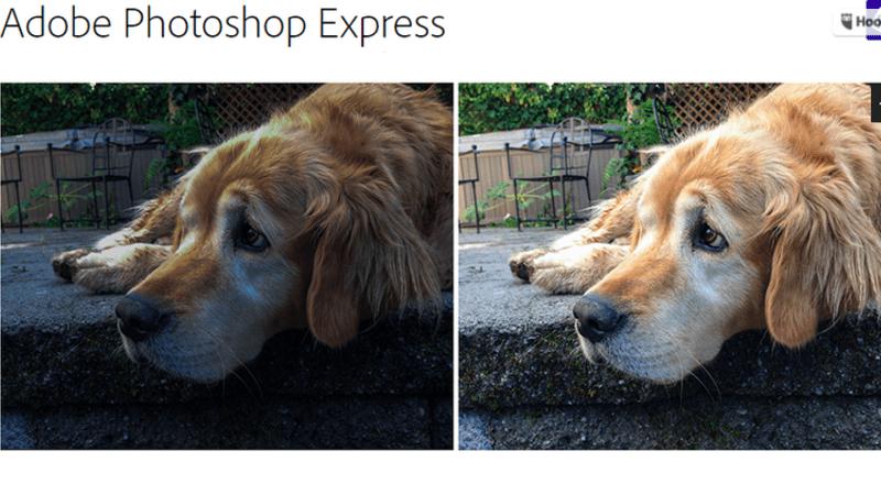 La App de Adobe Photoshop